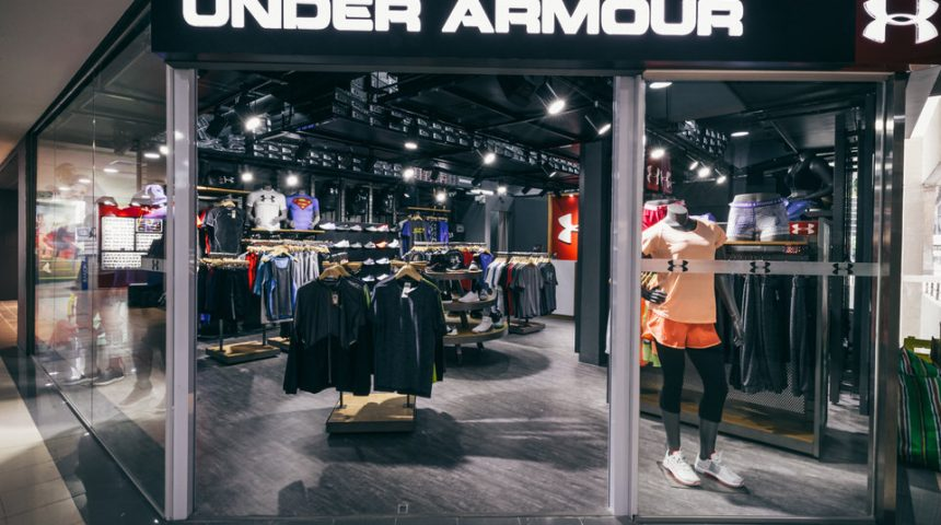 UNDER ARMOUR @ Queensway Shopping Centre